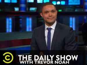 Host of The Daily Show Trevor Noah