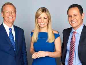 Steve Doocy, Ainsley Earhardt, and Brian Kilmeade host Fox and Friends
