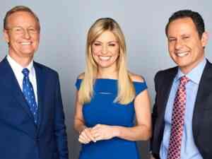 Steve Doocy, Ainsley Earhardt, and Brian Kilmeade host Fox and Friends