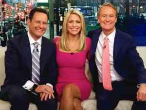 Hosts Of Fox And Friends - Brian Kilmeade, Ainsley Earhardt, Steve Doocy