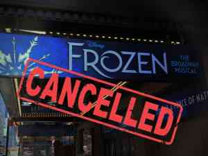 Frozen The Musical Cancelled on Broadway