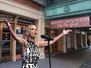 Kristin Chenoweth For The Girls on Broadway