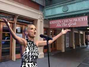 Kristin Chenoweth For The Girls on Broadway