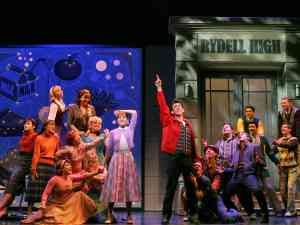 Grease on Broadway ensemble cast