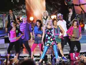 Hannah Montana Miley Cyrus Performing