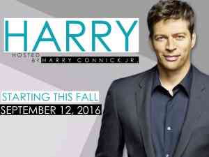 Harry Connick Jr New Show