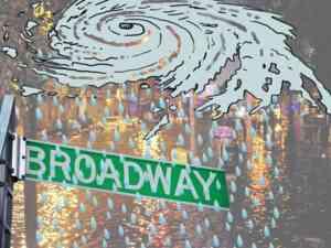 Hurricane Sandy Broadway