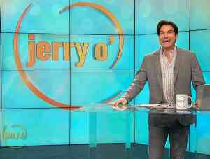 Jerry O'Connell hosting his new talk show Jerry O'