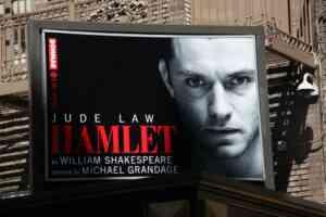 Judelaw Hamlet Broadway Theatre Marquee