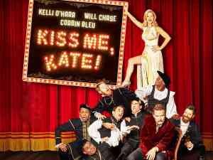Kiss me kate on Broadway Kelli O'Hara and Will Chase