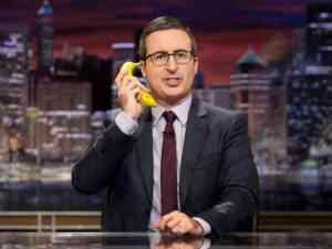 John Oliver hosts Last Week Tonight