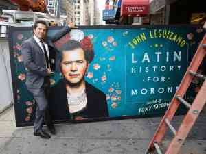 Latin History for Morons Broadway Theatre Marquee