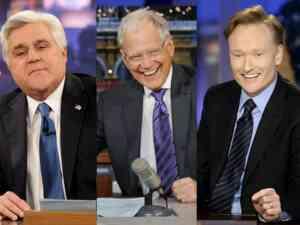 Leno Letterman and Conan Late Night Wars 2010