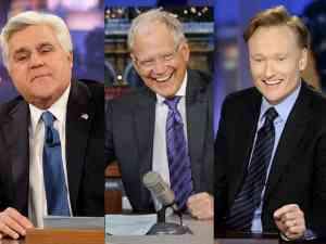 Leno Letterman and Conan Late Night Wars 2010