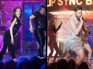 Anna Kendrick and John Krasinski on Lip Sync Battle