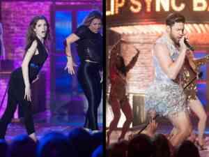 Anna Kendrick and John Krasinski on Lip Sync Battle