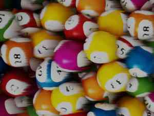 Blurred Lottery Balls