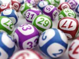 Broadway lottery balls