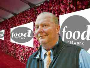 Mario Batali on Food Network Red Carpet