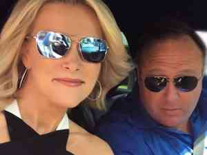 Megyn Kelly interviews the controversial personality Alex Jones