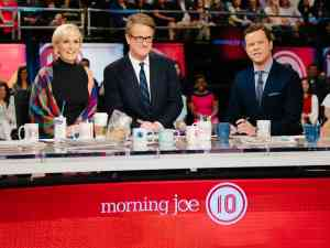 Morning Joe TV show on MSNBC