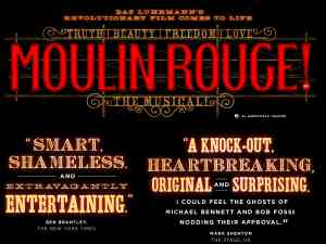 Moulin Rouge on Broadway