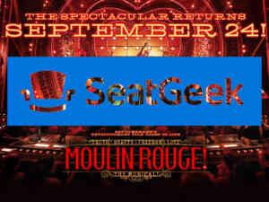 Moulin Rouge uses Seatgeek