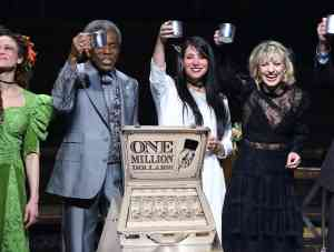 Hadestown on Broadway Celebrates Breaking One Million Dollars