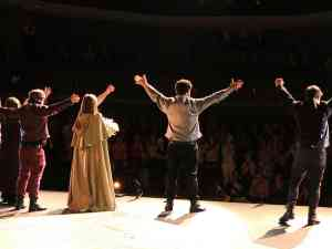 Broadway Standing Ovation