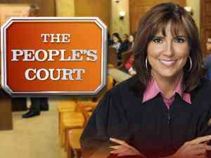 Peoples Court Logo