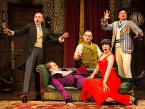 Broadway Show Play that goes Wrong