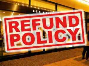 Broadway Refund Policy