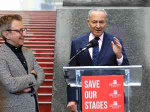 Thomas Schumacher and Chuck Schumer Speech at Save Our Stages