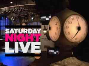 SNL Clock and Logo NBC NYC