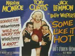 Some Like It Hot Broadway Poster