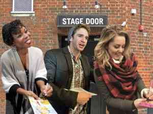 Stage Door Broadway Stars Signing Playbills and Memorabilia