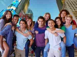 New York City Happy Students