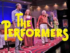 Henry Winkler and Cheyenne Jackson in The Performers on Broadway