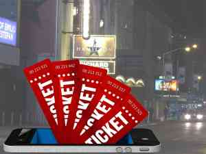 Broadway Cell Phone Tickets