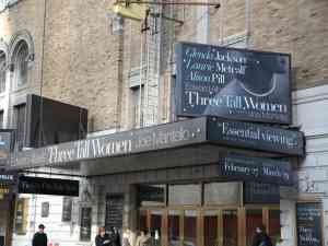 Three Tall Women Broadway Theatre Marquee