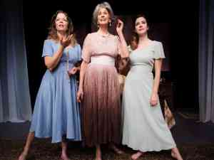 Three tall women closes