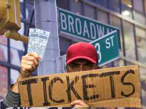 Broadway ticket resellers