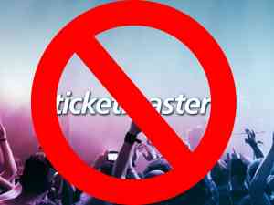 Ticketmaster Red X