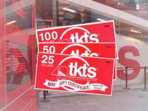 TKTS Red Tickets