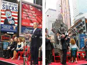 TKTS Times Square Opening 2008
