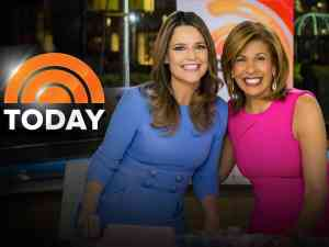 Savannah Guthrie and Hoda Kotb currently host the Today Show