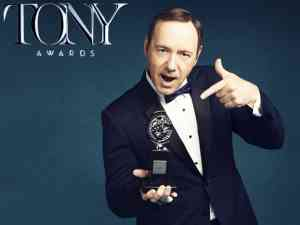 Kevin Spacey hosted the 2017 Tony Awards