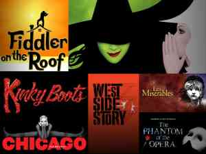 Top Best Broadway Shows Of All Time Show Posters