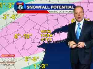 NYC Weather forecast winter storm blizzard