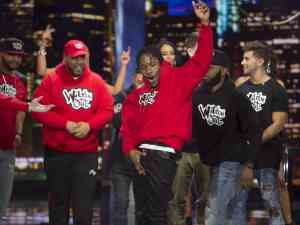 The Red Team performs on Wild 'N Out